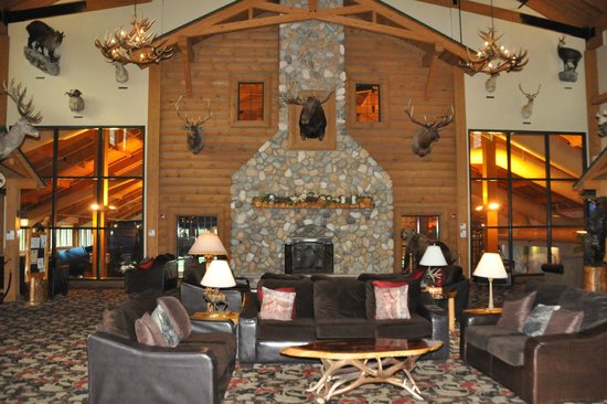 Tundra Lodge Resort Waterpark & Conference Center : Lobby