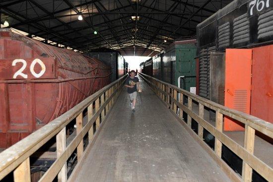cars in th train barn picture of national railroad museum green rh tripadvisor com