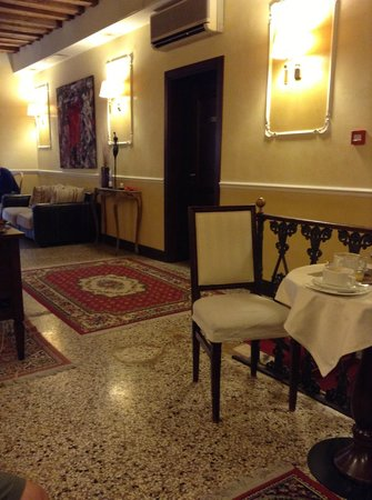 Ca' del Nobile: The breakfast area