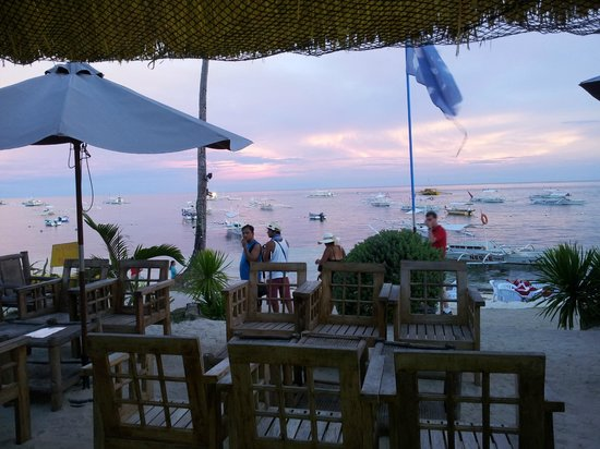 Panglao Birdwatchers Beachfront Hotel: Million dollar view