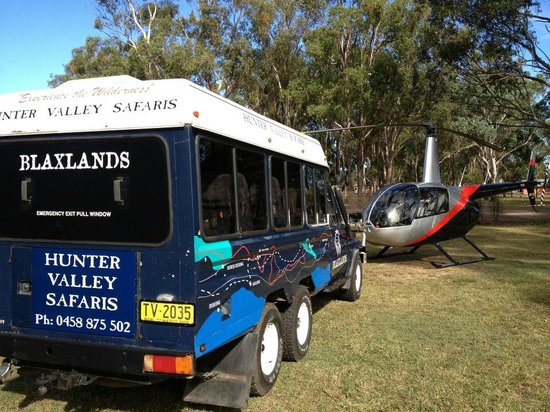 Hunter Valley Wine Safaris Tours & Valley Transfers: Air and Ground Safari
