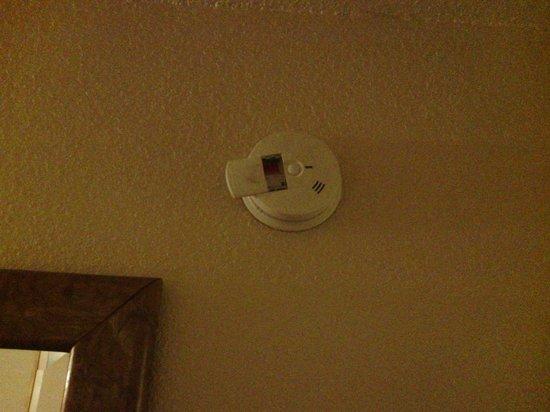 Econostudios : damaged smoke detector