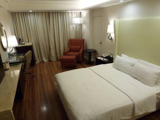 Savera Hotel: A double room