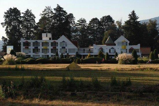 Hacienda Panoaya: Vista desde el Jardín