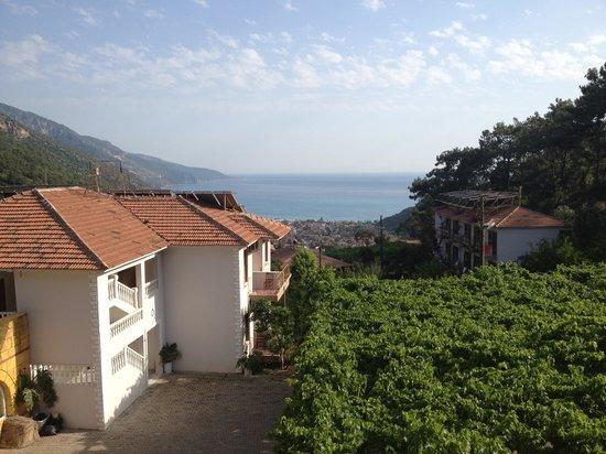 View from manzara to olu deniz