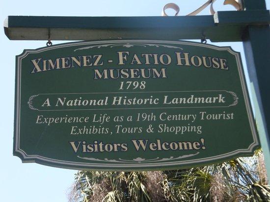 The Ximenez-Fatio House: Ximenez-Fatio House