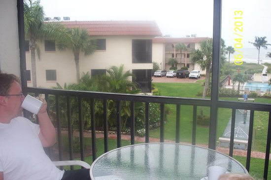 Sandalfoot Condominium: Our view from our room