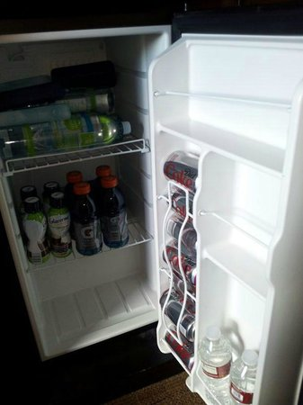 La Quinta Inn & Suites: Nice big mini fridge