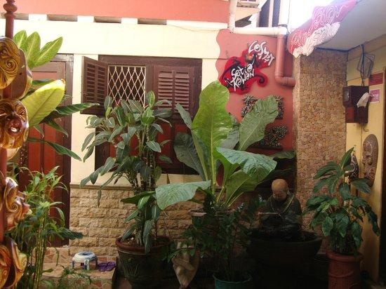 Losmen Setia Kawan: entrée du homestay
