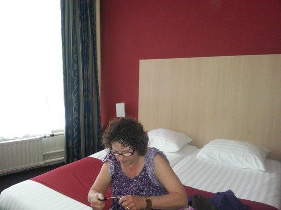 Nova Hotel Amsterdam: our room