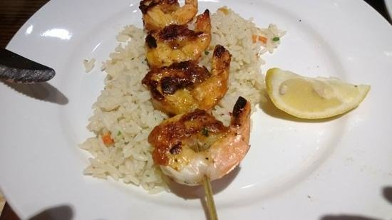 LongHorn Steakhouse: Redrock grilled shrimp