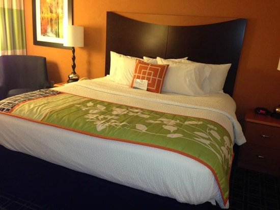 Fairfield Inn Bangor: comfy beds