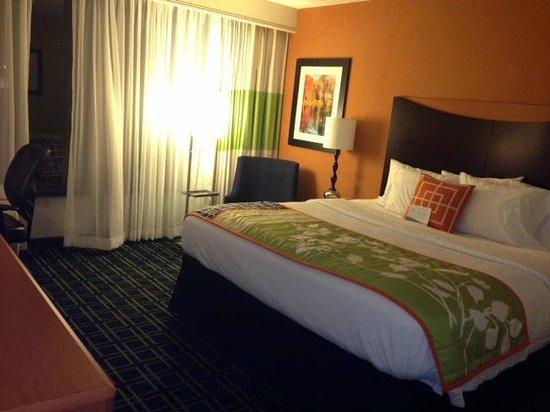 Fairfield Inn by Marriott Bangor: nice simply-refreshing decor