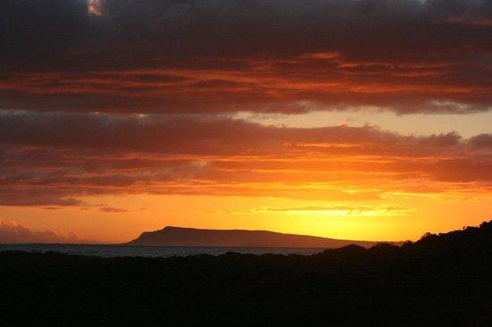 Agulhas Rest Camp: Sunset over Cape Agulhas