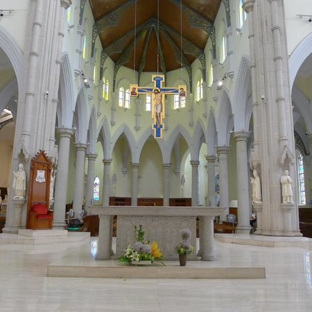 The Hong Kong Catholic Cathedral of The Immaculate Conception: Cathedral of Our Lady of The Immaculate Conception - Nave