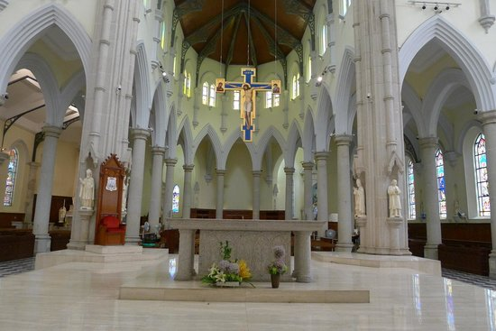 The Hong Kong Catholic Cathedral of The Immaculate Conception: Worship area