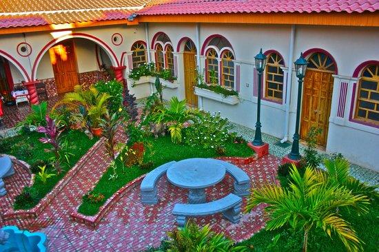 Chalchuapa, Le Salvador : patio