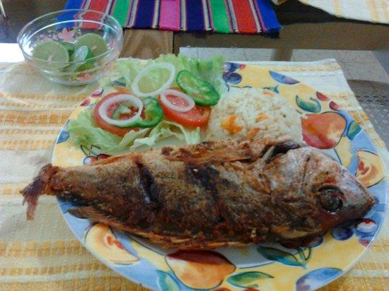 Hostal Dona Marta: Pescado Frito