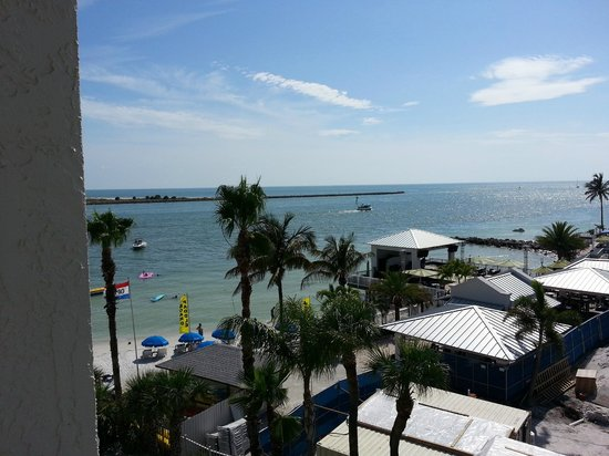 GulfView Hotel - On The Beach: The view from my balcony.