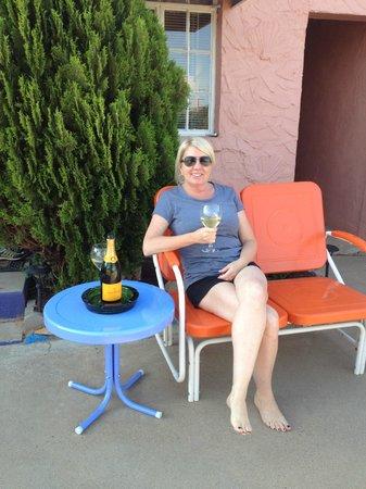 Blue Swallow Motel: Very relaxing!