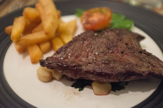 The French Kitchen: Onglet steak