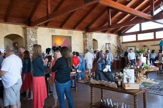Calcareous Vineyard: Inside can get crowded