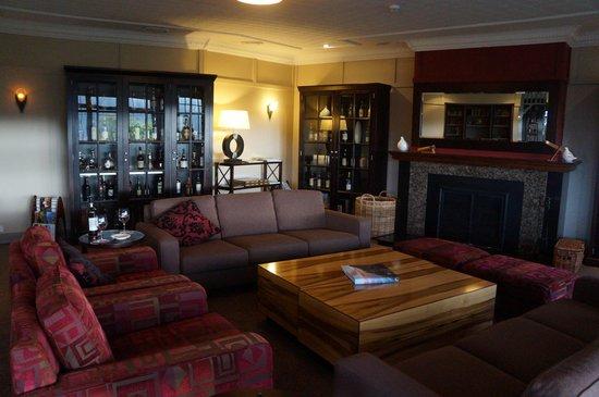 Tarraleah Lodge: Sitting room