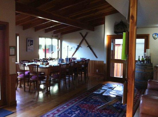 Te Wanaka Lodge : dining