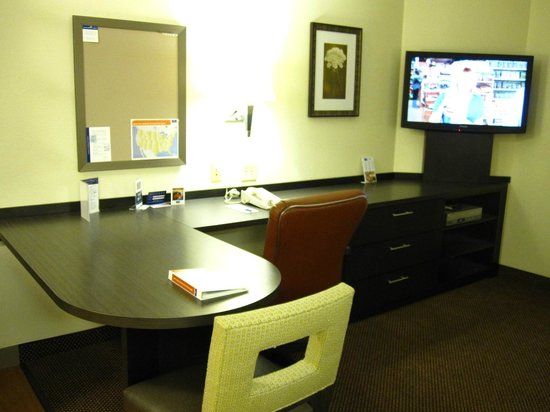Candlewood Suites Chicago Libertyville: Big desk