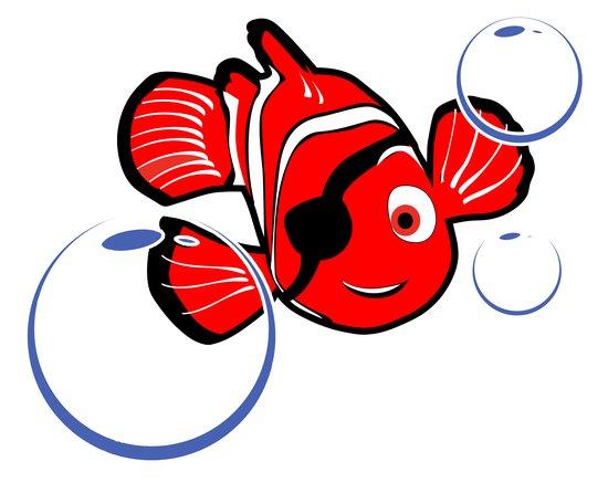 Komodo, Indonesien: Logo pesce