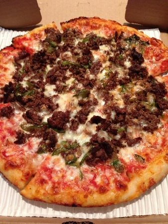 Pizza Wave: Cheesesteak Pizza.