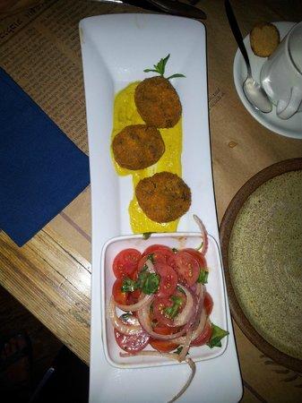 Gilboa Herb Farm: Falafel Mushrooms