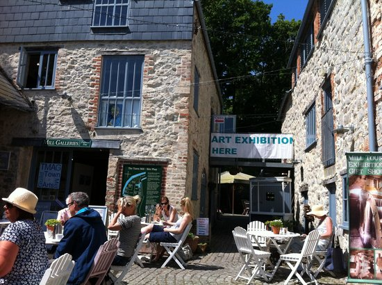 The Town Mill: Town mill (Lyme Regis) on a lovely hot summers day