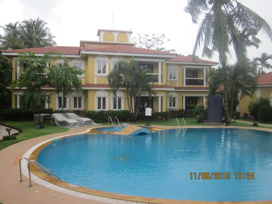 Casa De Goa Boutique Resort: Villa with swimming pool