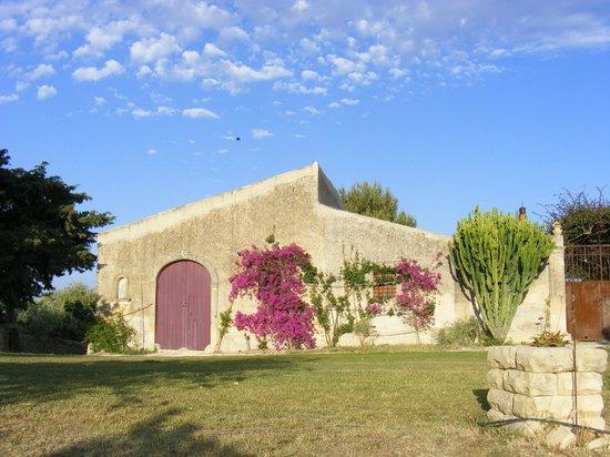 Azienda Agricola Busulmona: Entrance of the farm