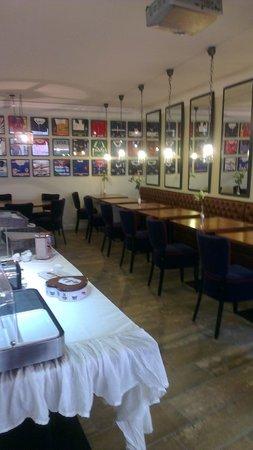 Hotel Au Bon Coin : salle petit dejeuner