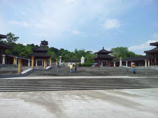 Former Residence of Li Bai : Li bai's statue