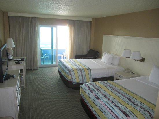 Ocean Place Resort & Spa: Average room