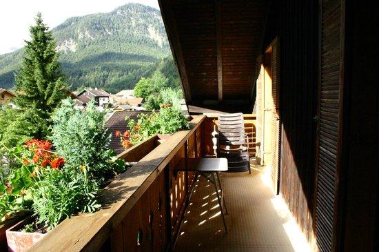 Hotel Garni Gästehaus Edlhuber: balcone