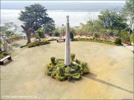 Tezpur, India: top of agnigarh park