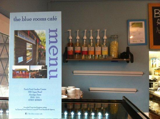 the menu picture of the blue rooms cafe abridge tripadvisor rh tripadvisor co uk