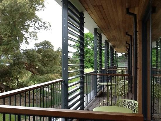 Balcony - Wivenhoe House Photo