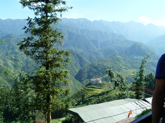 Grand View Sapa Hotel: view from balcony