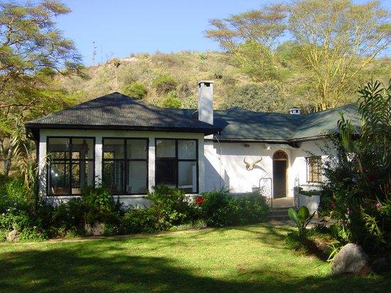 Bilashaka Lodge: Entrance to the lodge