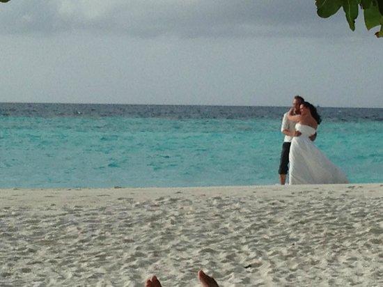Thulhagiri Island Resort: honeymooners