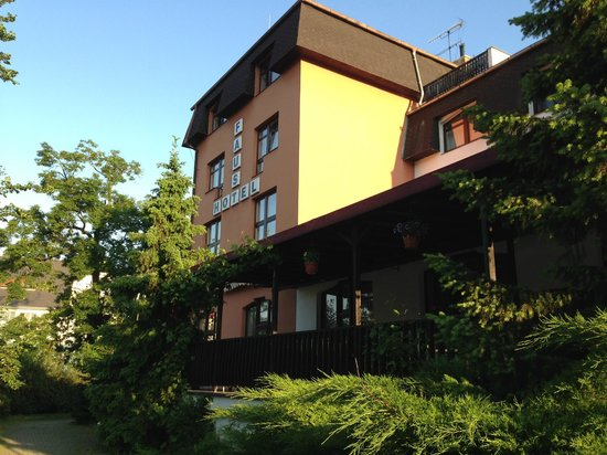 Hotel Faust : Hotel - from back side