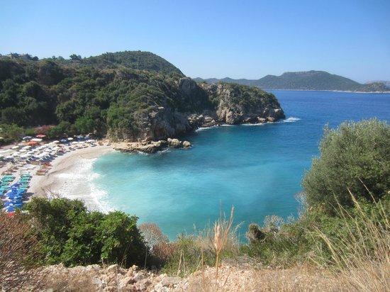 Medusa Hotel: Büyük Çakıl beach(15 min from hotel)
