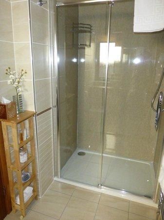 Lynver Guest House: Große Dusche