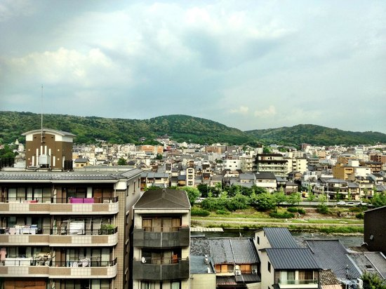Hotel Sunroute Kyoto: View from Room
