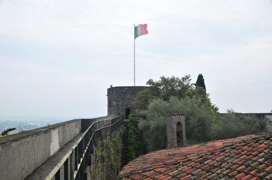 Rocca di Bergamo : Blick auf den Turm